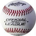 Rawlings Leather RPBX Baseballs (One Dozen) | PE Equipment & Games | Gear Up Sports