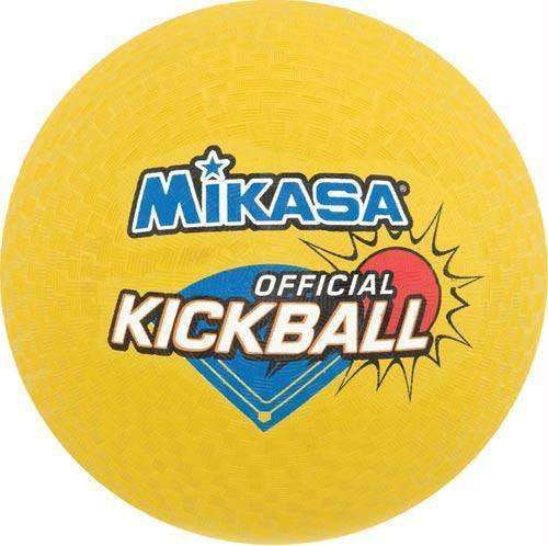 Mikasa Yellow Kickballs (Six Pack) | PE Equipment & Games | Gear Up Sports