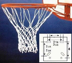 Porter Deluxe Basketball Goal Front Mount Official Size 18 Ring