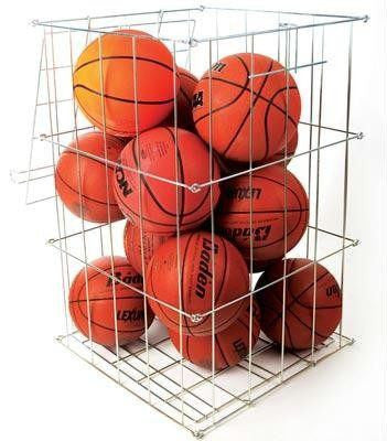 Folding Ball Basket | PE Equipment & Games | Gear Up Sports