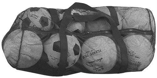 Zippered Mesh Bag (Various Color Options) | PE Equipment & Games | Gear Up Sports