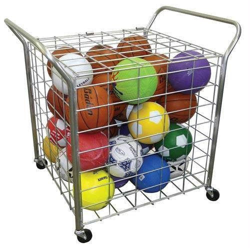 Deluxe Galvanized Equipment Cart | PE Equipment & Games | Gear Up Sports