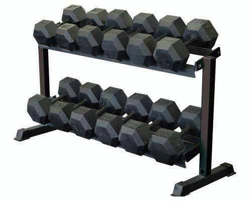 2 Tier Dumbbell Rack | PE Equipment & Games | Gear Up Sports