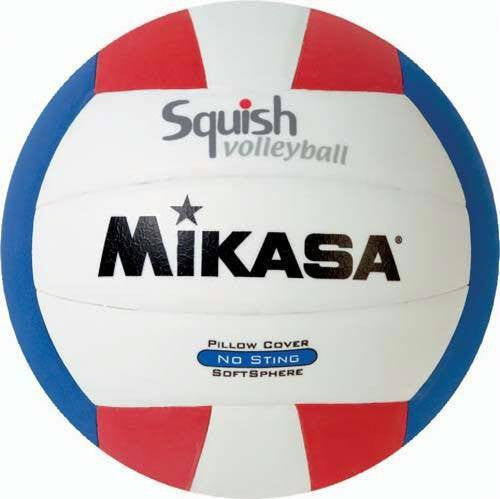 Mikasa Squish Volleyball (Pack of 3) | PE Equipment & Games | Gear Up Sports