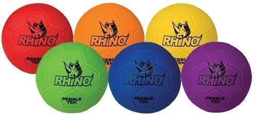Rhino Skin Pebble-Tek Soccer Balls | PE Equipment & Games | Gear Up Sports