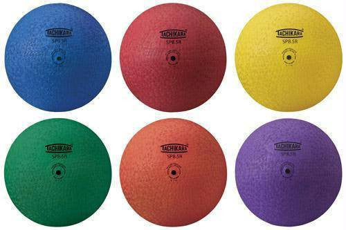Set of Six Tachikara Playground Balls | PE Equipment & Games | Gear Up Sports