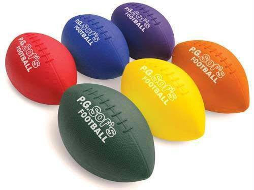 "10"" P.G. Sof's Footballs (Set of 6) 