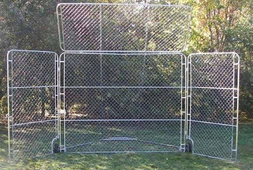 Portable Backstop with Top & Side Panels | PE Equipment & Games | Gear Up Sports
