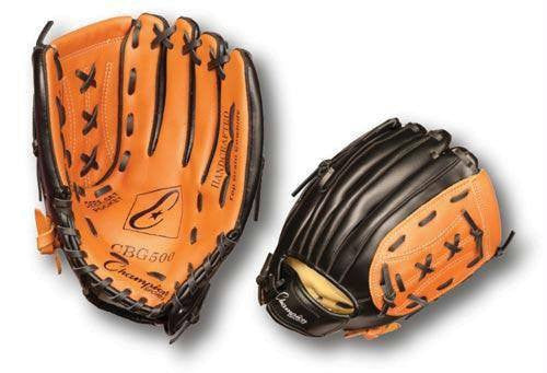 "Right Handed Leather/Synthetic Glove (12"") 