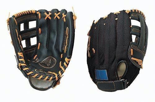"Right Handed Leather/Nylon Mesh Glove (12"") 
