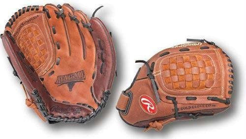 "Right Handed Rawlings Baseball Glove (12.5"") 