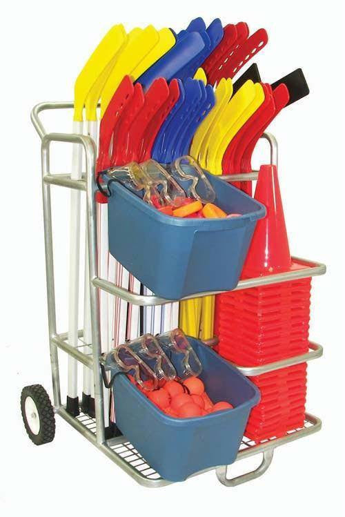 Hockey Equipment Cart | PE Equipment & Games | Gear Up Sports