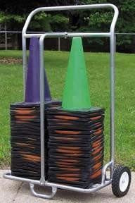 "Double 12""/18"" Cone Cart 