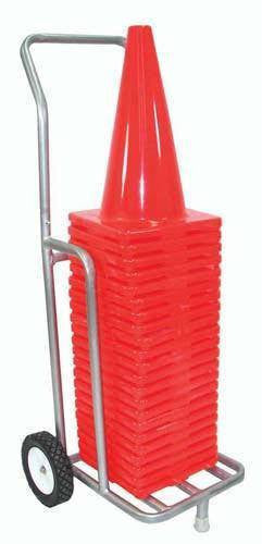 "Single Cone Cart (Holds 12"" & 18"" Cones) 