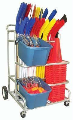 EZ-Roll Hockey Equipment Cart | PE Equipment & Games | Gear Up Sports
