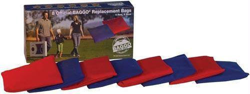 Baggo Replacement Bean Bags (Set of 8) | PE Equipment & Games | Gear Up Sports