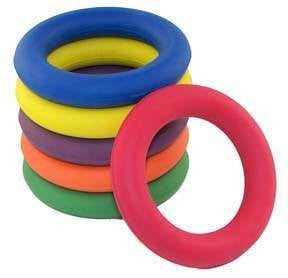 Set of 6 Deck Tennis Rings | PE Equipment & Games | Gear Up Sports