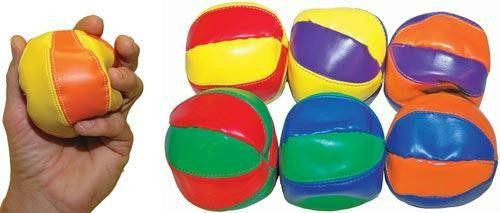 Bean Balls (Set of 6) | PE Equipment & Games | Gear Up Sports