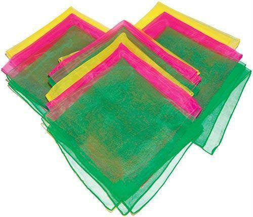 Juggling Scarves (Set of 12) | PE Equipment & Games | Gear Up Sports