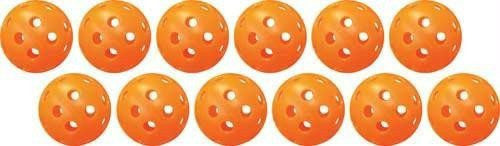 Poly Golf Balls With Holes (Set of 48) | PE Equipment & Games | Gear Up Sports