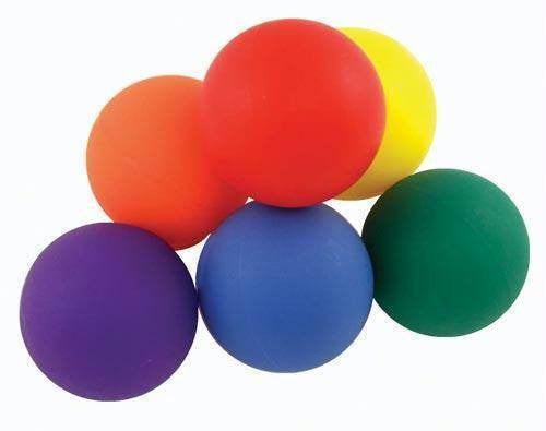 Rainbow Hotballs (Set of 12) | PE Equipment & Games | Gear Up Sports