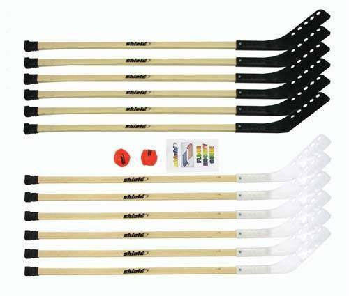 "Wood Outdoor Hockey Set (42"" or 56"" Options) 