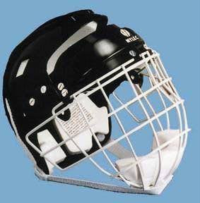 Hockey Helmet w/ Wire Face Cage (Junior or Senior Size) | PE Equipment & Games | Gear Up Sports