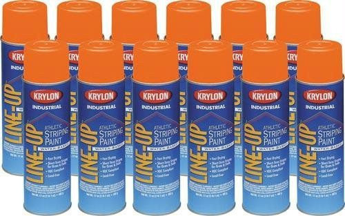 Krylon Athletic Paint - Orange | PE Equipment & Games | Gear Up Sports