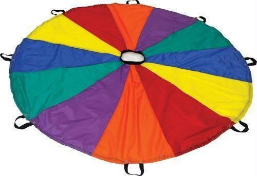 Deluxe Parachute (6', 12', 20', 24', 30', 35', 45' Options) | PE Equipment & Games | Gear Up Sports