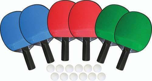 6 Player Set Table Tennis Set | PE Equipment & Games | Gear Up Sports