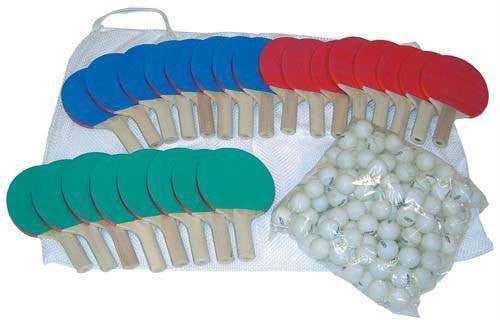 5-Ply Wood Paddle Table Tennis Kit | PE Equipment & Games | Gear Up Sports