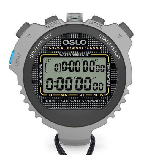 Robic Silver 60 Stopwatch | PE Equipment & Games | Gear Up Sports