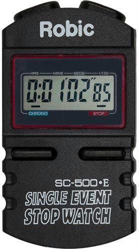Robic SC-500E Event Timer | PE Equipment & Games | Gear Up Sports