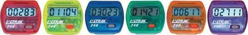 Colored Step Pedometers (Set of 6) | PE Equipment & Games | Gear Up Sports