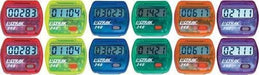Colored Step Pedometers (Set of 12) | PE Equipment & Games | Gear Up Sports