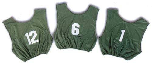 Youth Numbered Scrimmage Vests | PE Equipment & Games | Gear Up Sports