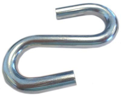 One Dozen Standard S Hooks (Various Sizes) | PE Equipment & Games | Gear Up Sports