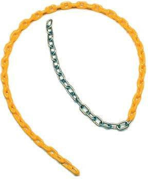 "5.5' x 3/16"" Coated Swing Chain (Various Color Options) 