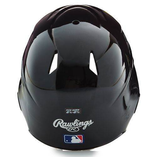 Rawlings Vented Batting Helmet Baseball Rear