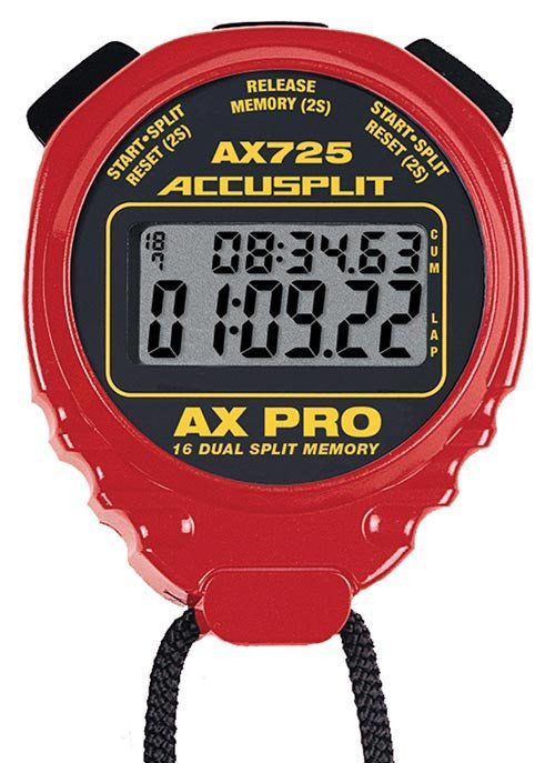 ACCUSPLIT AX725 Pro Timer (Various Colors) | PE Equipment & Games | Gear Up Sports