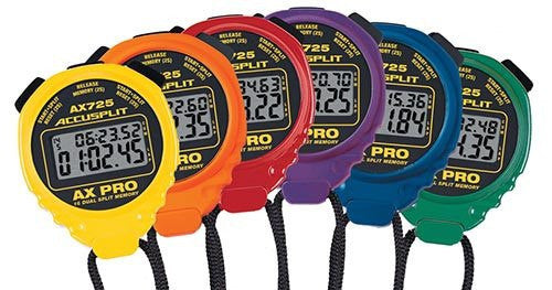 ACCUSPLIT AX725 PRO 16 MEMORY Stopwatches (Set of 6) | PE Equipment & Games | Gear Up Sports
