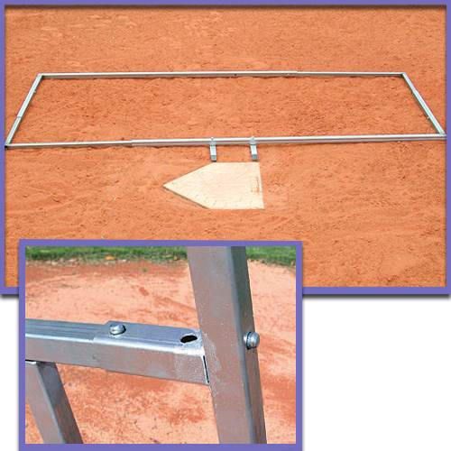 Adjustable Baseball/Softball Batter's Box Template
