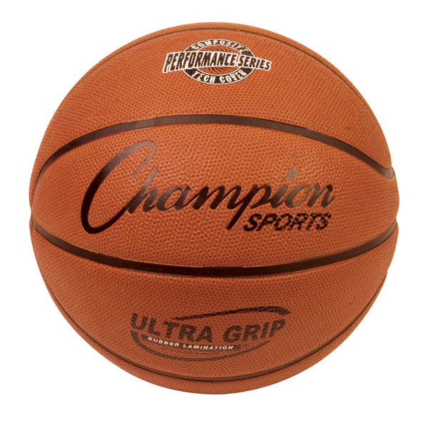 Champion Sports Ultra Grip Rubber Basketballs