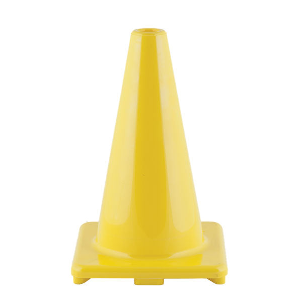 "12"" Heavy-Duty Vinyl Traffic Cones 