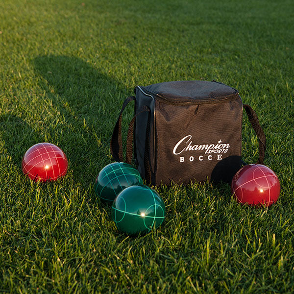 Champion Sports Deluxe Bocce Tournament Set
