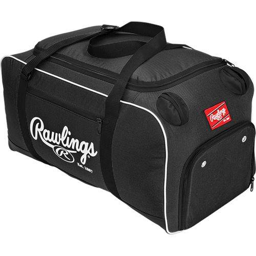 Rawlings Covert Baseball/Softball Duffle Bag Black - Gear Up Sports