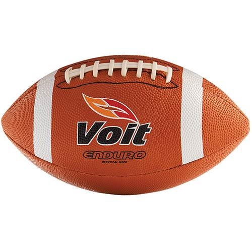 Voit® Enduro Rubber Football w/Stitched Laces