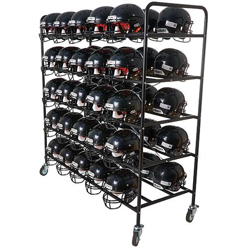 Multipurpose Helmet Cart | Football, Baseball, Basketball