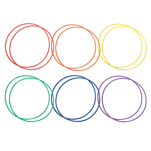 Plastic Hula Hoops by Champion Sports