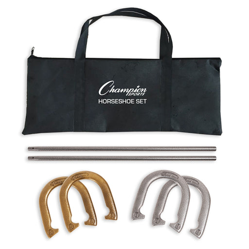 Champion Sports Steel Horseshoe Set